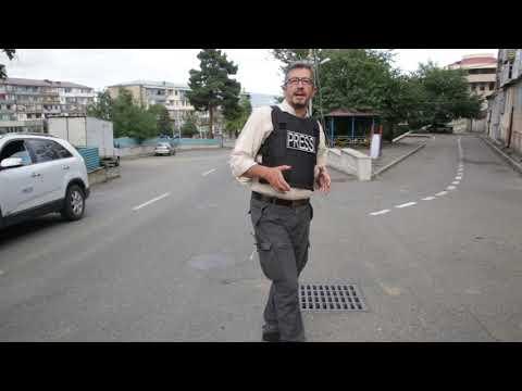 Το CNN Greece στο Ναγκόρνο Καραμπάχ. Δεκάδες βομβαρδισμοί καθημερινά στο Στεπανακέρτ