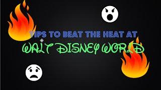 Tips to Beat the Heat at Walt Disney World