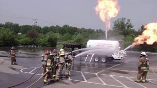 propane tank fire