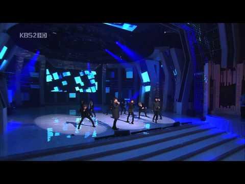 [HD] 101230 Super Junior - Intro + Bonamana Remix