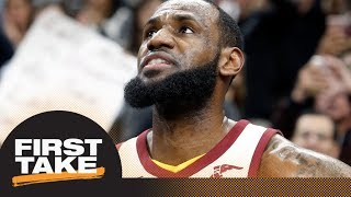 Stephen A. and Max debate how Cavaliers' should change starting lineup | First Take | ESPN