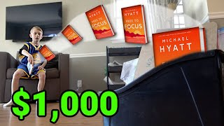 Real Life TRICK SHOTS for $1000