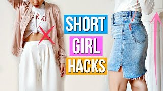 8 Clothing Hacks EVERY Short Girl Must Know!