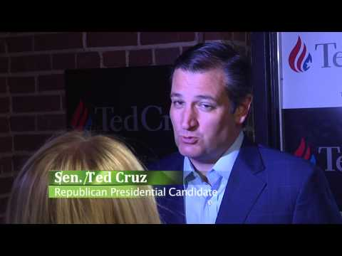 screenshot of youtube video titled [STUDENT VIDEO] Ted Cruz Visits Greer, SC Townhall (small thumbnail)