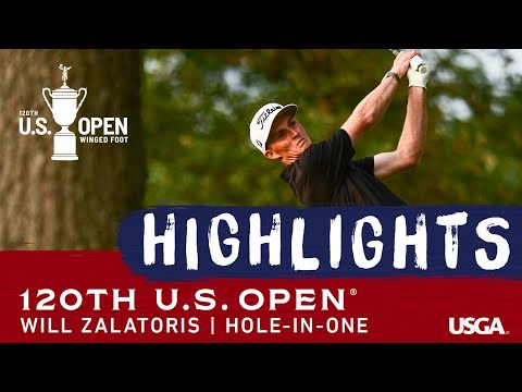 2020 U.S. Open: Will Zalatoris Aces the 7th Hole in Round 1