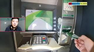 Hướng dẫn đổi mã pin thẻ ATM Vietcombank lần đầu cho bạn nào chưa biết - Lê Nguyễn Vlogs