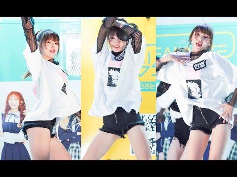 DreamNote(드림노트) HanByeol(한별) BLACKPINK 'AS IF IT'S YOUR LAST' Dance Cover fancam [181009 명동 버스킹 직캠]