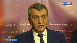 Сегодня в Омске с визитом находится полномочный представитель президента России в Сибирском Федеральном округе