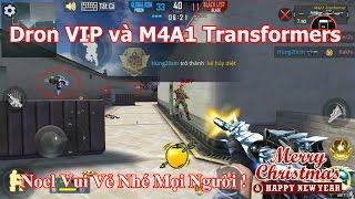 Phục Kích Mobile - Trải Nghiệm M4A1 Transformers Và Drone Siêu Mạnh | F.A Channel VN