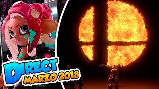 ¡Octarianos y Smash Bros en Switch! -  Nintendo Direct (Marzo 2018) DSimphony #Directphony