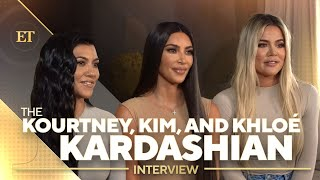 Kim, Kourtney and Khloe Kardashian Talk Future of KUWTK (Full Interview)