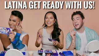 Get ready with us ft Becky G and Louie Castro! *FUNNY AF*