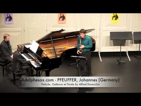 Dinant 2014 - Johannes Pfeuffer Prelude, Cadence et Finale by Alfred Desenclos