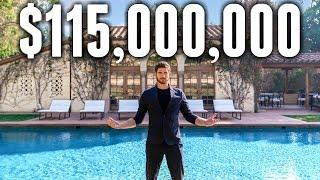 INSIDE a $115 Million Beverly Hills MEGA MANSION