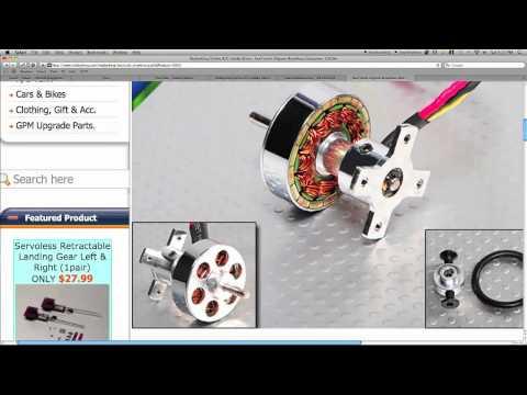 How to understanding rc motor technology for Understanding brushless motor kv