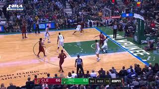 Cleveland Cavaliers vs Milwaukee Bucks Resumen de juegos completos | 20 de oct. De 2017 |