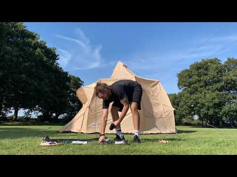 Boutique Camping Tents 5m Luna Rundzelt