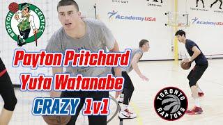 Payton Pritchard and Yuta Watanabe *INTENSE* 1V1! | Payton goes *CRAZY* & Yuta catches *FIRE*