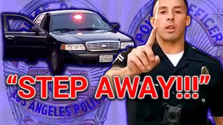 ***MUST SEE*** COPWATCH 7.20.19 LAPD officer LOPEZ likes to manhandle  - MESSES WITH THE WRONG GUY