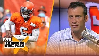 Doug Gottlieb: Tyrod Taylor is the true underdog in Cleveland - Not Baker Mayfield | NFL | THE HERD