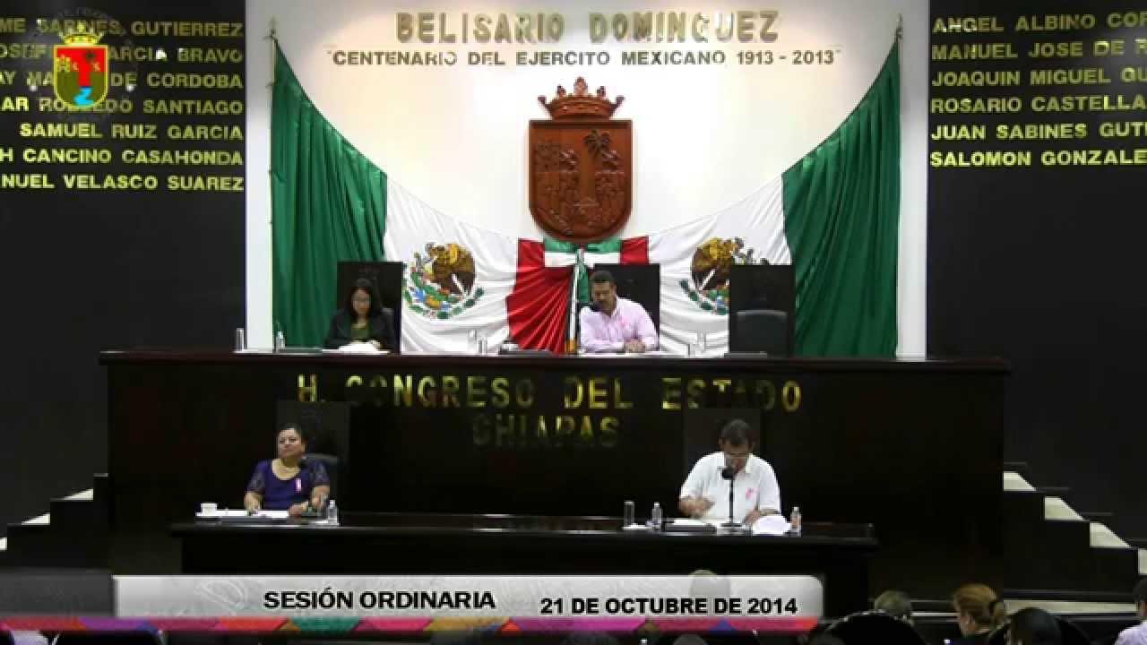 Sesión Ordinaria 21 de Octubre de 2014