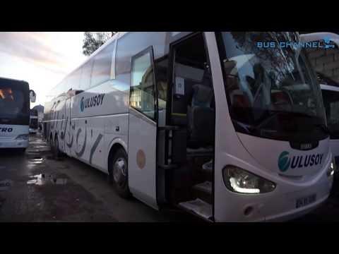 Ulusoy Volvo İrizar İ6 Otobüs Tanıtımı (Bu Rahatlıkta Türkiye Turu Atılır) Video