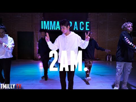 Adrian Marcel - 2AM. ft Sage the Gemini - Choreography by Willdabeast Adams #TMillyTV