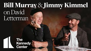 Jimmy Kimmel and Bill Murray on David Letterman's Specialness