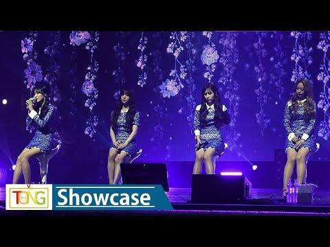 Lovelyz(러블리즈) 'Fallin'' Showcase Stage (쇼케이스, Fall in Lovelyz, Twinkle, 종소리)