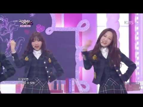 [HIT] 뮤직뱅크-러블리즈(LOVELYZ) - 비밀 여행(Getaway) + Candy Jelly Love.201411114
