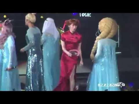 [Mrs希][Fancam] 150329 SS6 Nanjing 'LET IT GO+ROKKUGO' Heechul Focus Super Junior