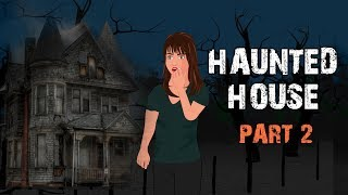 Haunted House Halloween Animated Horror Story - Part 2