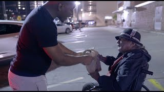 SURPRISING THE HOMELESS WITH GIFT BAGS!! (EXTREMELY EMOTIONAL) | THE PRINCE FAMILY