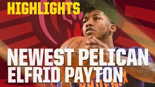 Elfrid Payton Highlights | Newest New Orleans Pelican | 2017-18 NBA Season