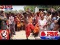 Devotees Offers Traditional Prayers In Jatara | Teenmaar News | V6 News