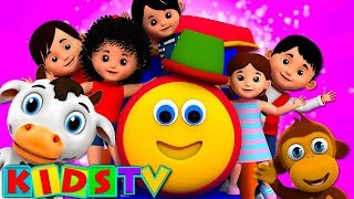 Bob the Train Nursery Rhymes and Kids Songs | Bob Learning Street Live Stream Collection by Kids TV