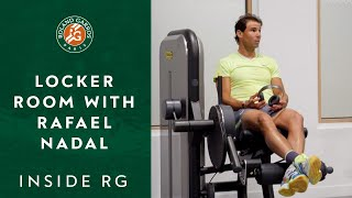 Inside Roland-Garros #2 - The Locker Room with Rafael Nadal | Roland-Garros 2019