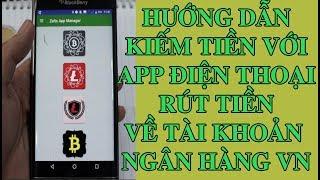 App điện thoại kiếm tiền ảo Bitcoin, LTC,ETH miễn phí,  Đã rút được tiền thành công