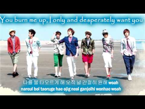 U-Kiss Te Amo [Eng Sub + Romanization + Hangul] HD