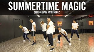 "Childish Gambino ""Summertime Magic"" Choreography by The Kinjaz"