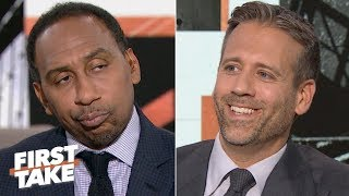 Stephen A. gets annoyed with Max Kellerman saying the Browns are Super Bowl contenders | First Take