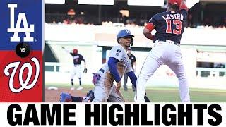 Dodgers vs. Nationals Game Highlights (7/2/21)   MLB Highlights