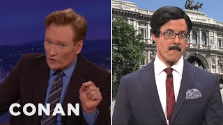 Conan Has Questions About Italy's Masturbation Ruling - CONAN on TBS