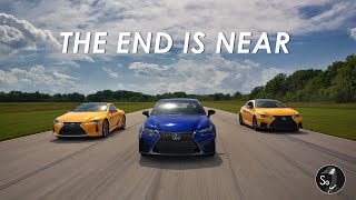 Lexus LC500 GSF and RCF | The End is Near