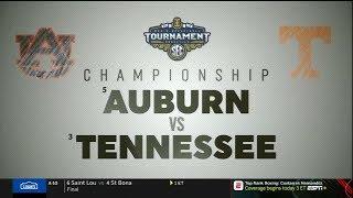Auburn vs. Tennessee Basketball 03/17/2019 (SEC Tournament Championship)