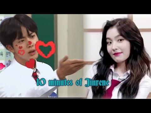 10 minutes of Jinrene |Bts Jin × Irene Red velvet
