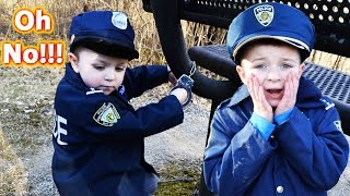Where's Smalls?!?  Silly Kid Cop Comedy Video