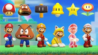 Super Mario Maker 2 - All Super Mario 3D World Power-Ups