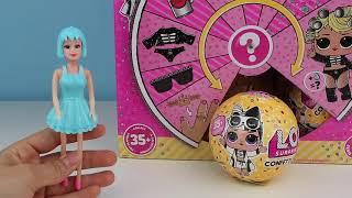 LOL Confetti Pop vs ŞOK Market Oyuncak Challenge Bulana Kadar Lol Bebek Açtım Bidünya Oyuncak