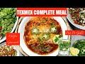 Festive TexMex Dinner Meal Enchiladas Pico De Gallo Guacamole Mojito Video Recipe   Bhavnas Kitchen